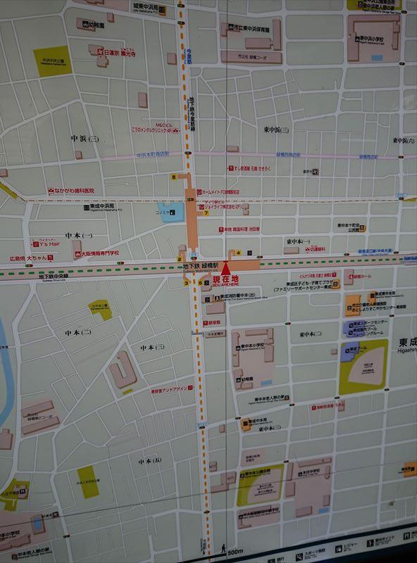 緑橋駅 地図